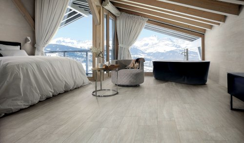 Vibe porcelain tile collection from Ceramiche Caesar
