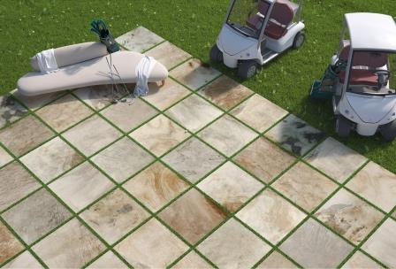 due2, Del Conca's innovative thick tile for external use