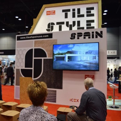 Tile of Spain Showcasing New Tile, Trends at Coverings