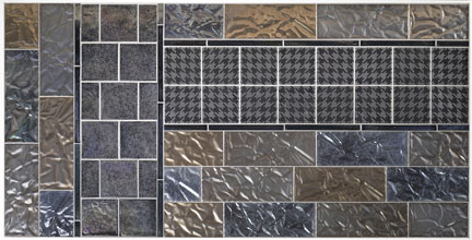 Lunada Bay's New Shinju Paper in Pacific together with Hikari etched glass