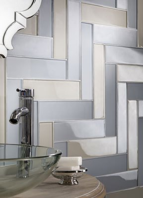 Lunada Bay Tile's new Tomei gray and beige tones expand design possibilities