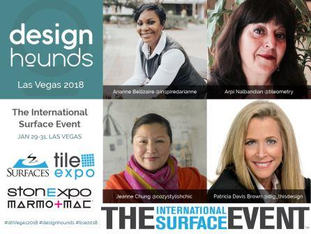 Tile Trend-Spotting at The International Surfaces Event 2018