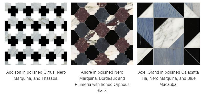 New Ravenna Introduces Semplice: Colorblocked Mosaics