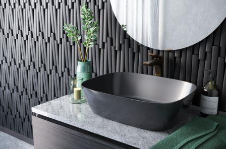 Crescent V Stone Tiles from Island Stone