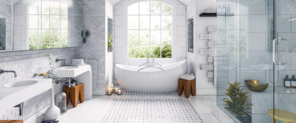 of adhesive to use on shower tile