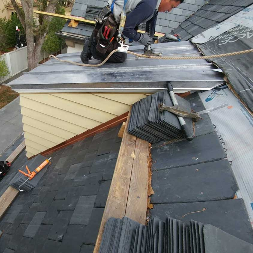 clay tile roofing metal roofing
