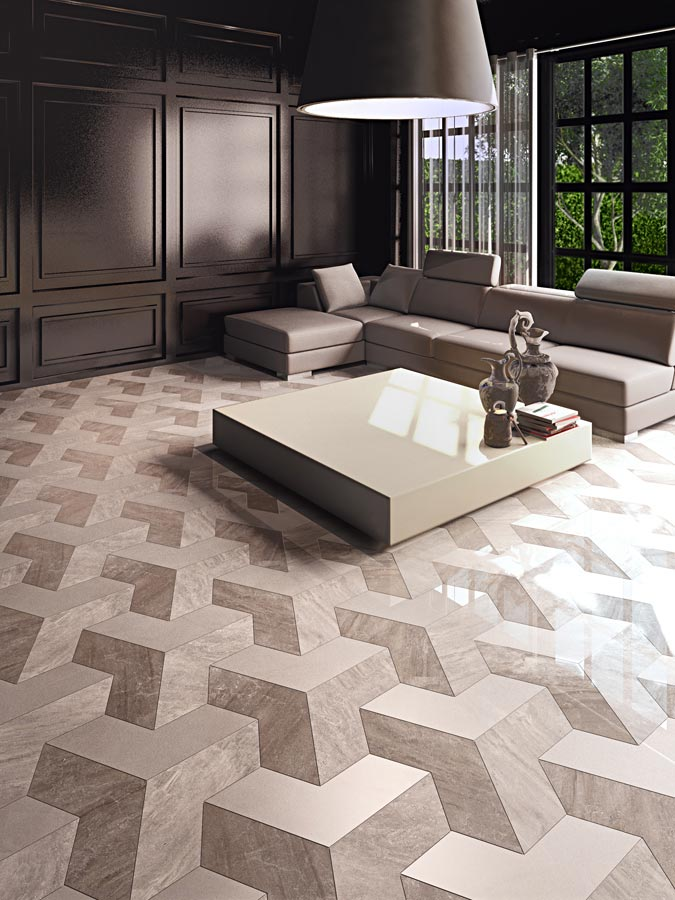Buy Marble Effect Polished Porcelain Tiles Ireland at