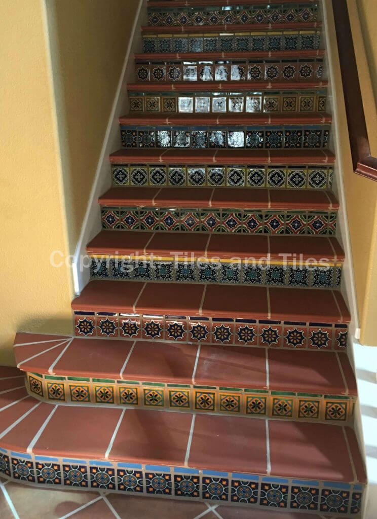 colonial style with mexican tiles
