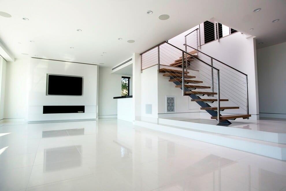 white tile floors in living room decorating ideas for grey furniture crystal thassos pure marble tiles stone warehouse