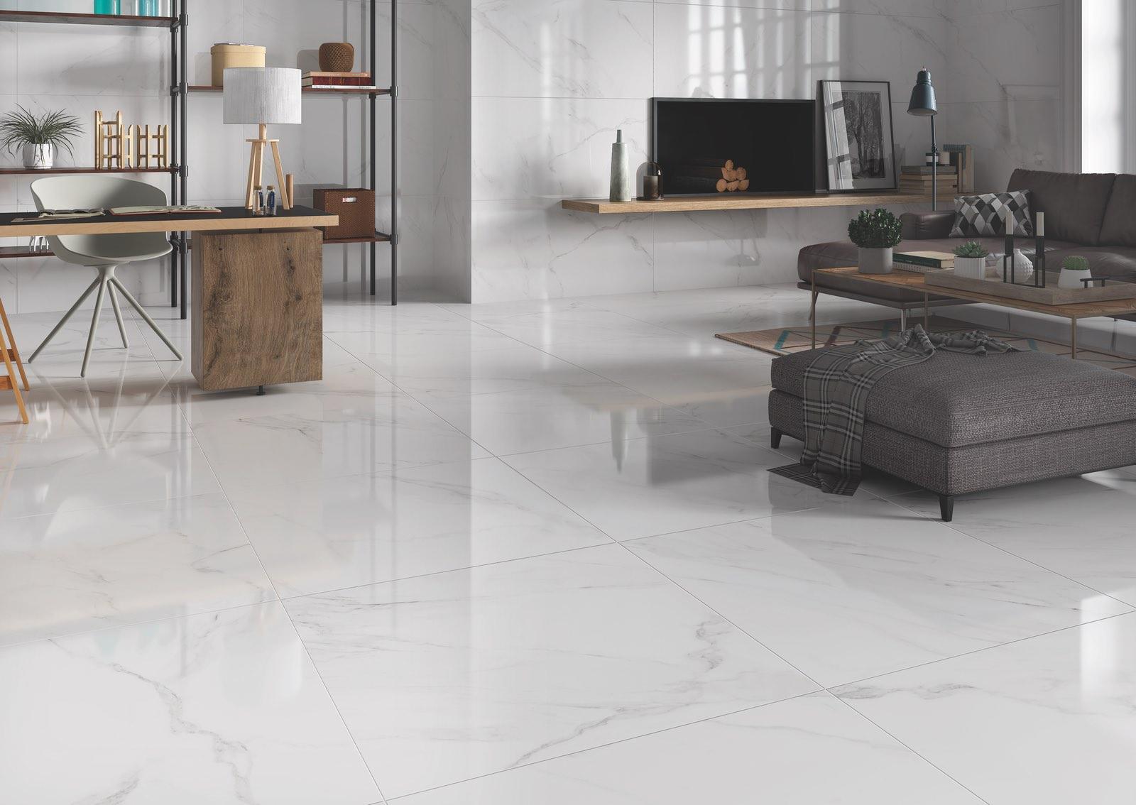 32x32 naos white polished tile tiles