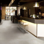 Aggregate Sand installed in a restaurant