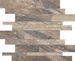Evolution Random Strip Mosaic Earth Matte