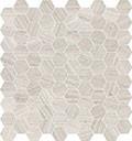 "Mayfair 1.25""x1.25"" Hexagon Mosaic Strada Ash Polished"