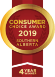 Four Year Winner Consumer Choice Award