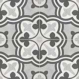 Form Baroque 8x8 Ice Deco Matte
