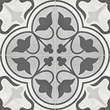 Form Clover 8x8 Ice Deco Matte