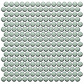 Color Collection Mint Green Penny Round Glossy