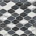 Jeffrey Court Silhouette 12x12 Beveled Elongated Hex Speciality