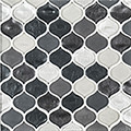 Jeffrey Court Silhouette 12x12 Droplet Speciality