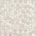 """Jeffrey Court Champagne 12x12 5/8"""" Hexagon Speciality"""