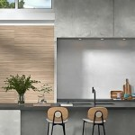 Zen Linear Natural Wood Installed in a kitchen