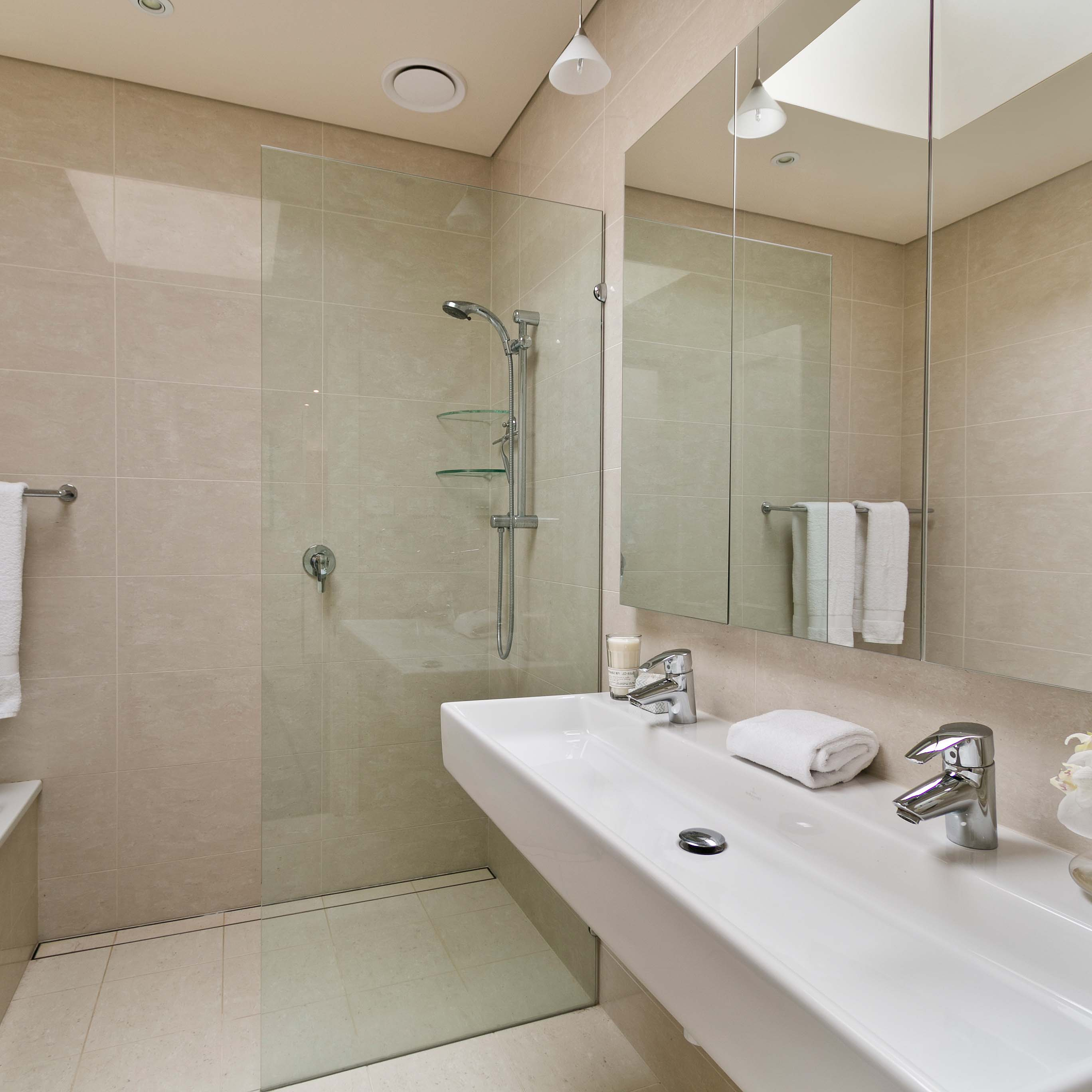 curbless shower installation get the