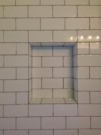 White Subway Tile Shower Niche | www.pixshark.com - Images ...