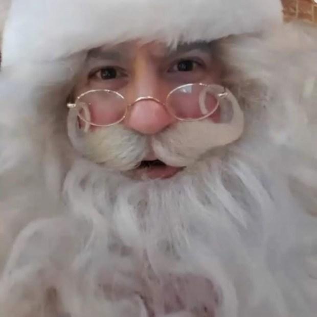 Santa Close Up