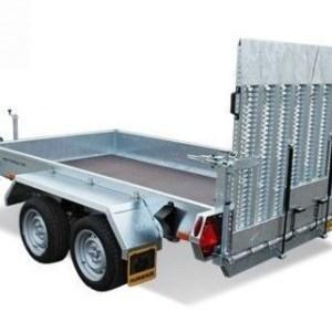 HUMBAUR Senko 303016 Senkehenger for transport av maskiner og utstyr bakfra