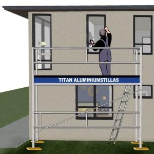 Titan aluminiumstillas