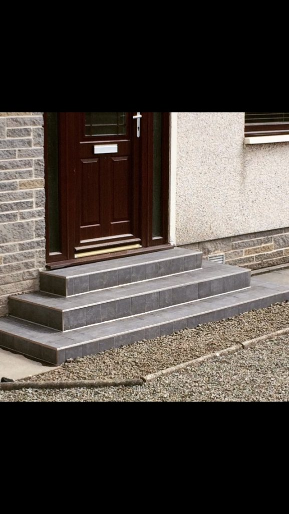 Doorsteps and Porches  Taylor Made Tiling