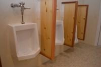 Custom bathroom dividers | Tillamook Home Builder
