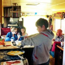Breakfast on the Bus