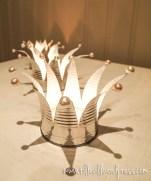 Ljuskornor av konservburkar