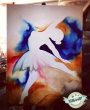 Ballerina i olja