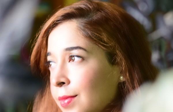 Afshan Shafi smiling