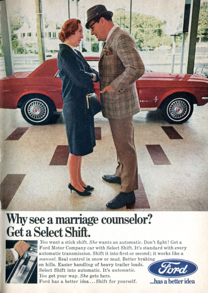 """""""1967 Ford Mustang Advertisement Readers Digest March 1967"""" by SenseiAlan is licensed under CC BY 2.0"""