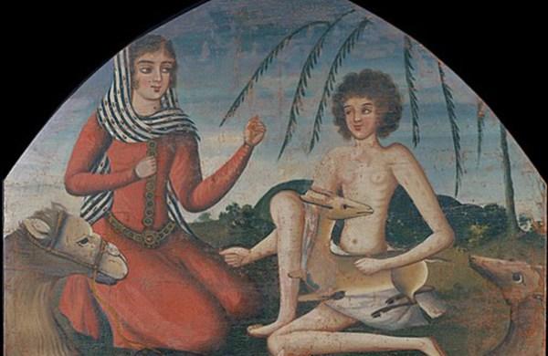 Majnūn and Laila