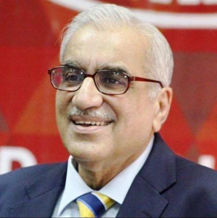 Nauman Ahmad smiling