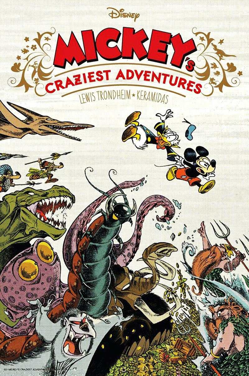 Der Hype vorab war schwer zu überbieten: Die Egmont Comic Collection  importiert die Sensation aus Frankreich, die Disney-Hommagen von Cosey und  anderen.