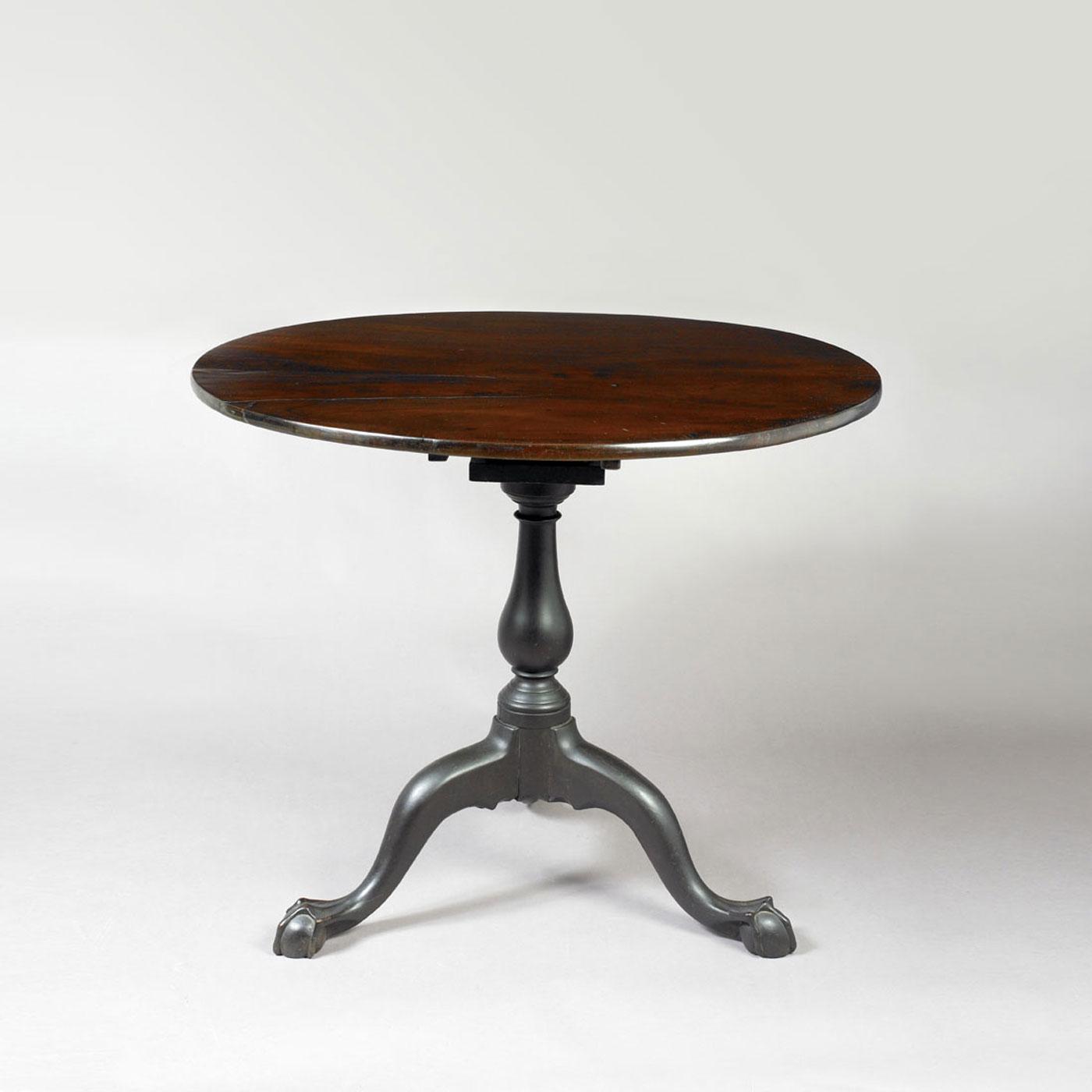 Chippendale Tea Table • Jeffrey Tillou Antiques