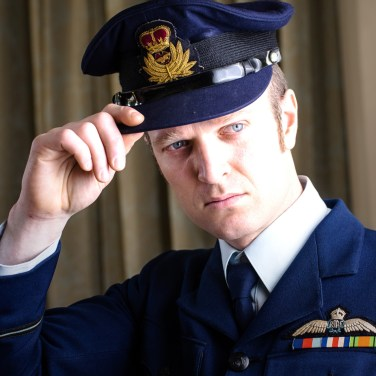 """Billy Smedley as RAAF Pilot """"Andrew"""""""