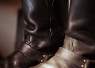 leather boot care