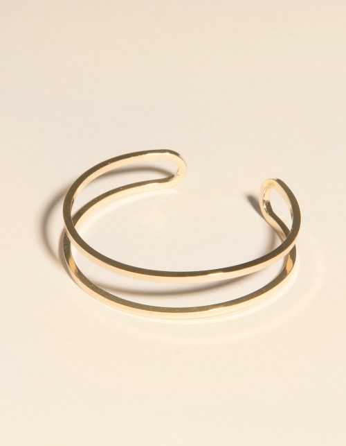 WEST OF MELROSE Open Cuff bracelet is a dainty styling piece that will accent any summer outfit.