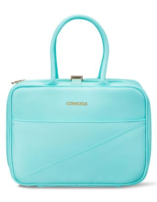 Corkcicle Baldwin Boxer Turquoise Lunch Bag