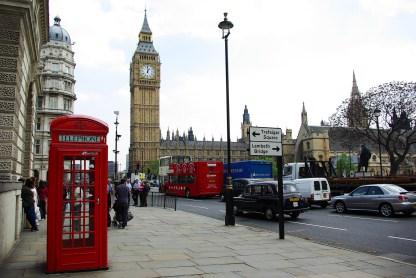 London: Telefonzelle & Big Ben