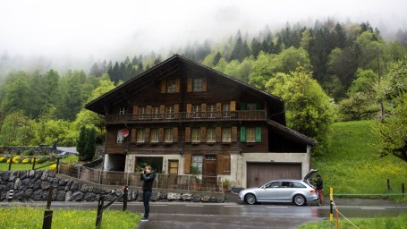 Pitstop while driving to Interlaken.