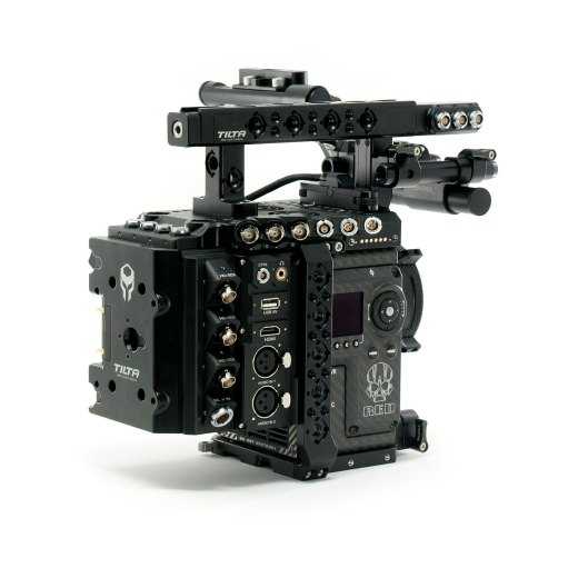 Red Camera Cages