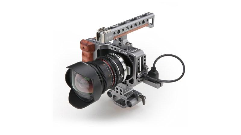 Camera Cage for Blackmagic Pocket Cinema Camera   Tilta
