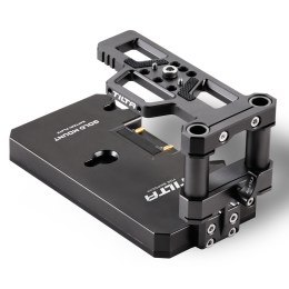 BMPCC 4K Gold Mount Battery Baseplate - Tilta Gray